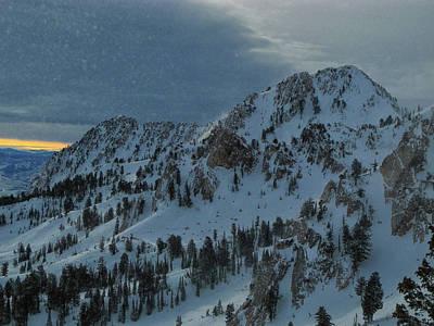 Photograph - Snowbasin Ski Area As A Snow Globe by Raymond Salani III