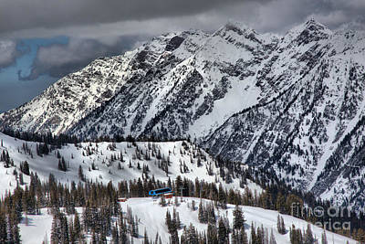 Photograph - Snowbird Gad 2 by Adam Jewell