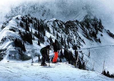 Photograph - Snowbird by Jim Hill