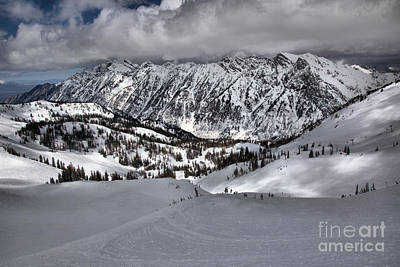 Photograph - Snowbird Little Cloud Winter by Adam Jewell