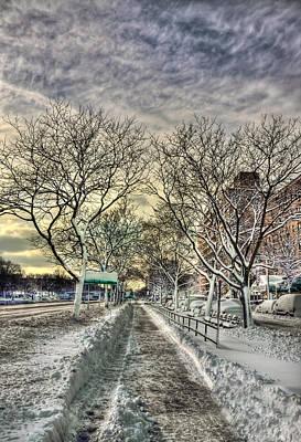 Winter Trees Photograph - Snowbound by Evelina Kremsdorf