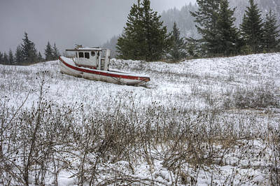 Photograph - Snowbound by Idaho Scenic Images Linda Lantzy