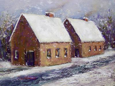 Snowbound Art Print by Joyce A Guariglia