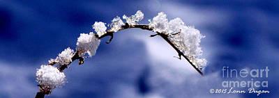 Photograph - Snowbridge #5 by EGiclee Digital Prints