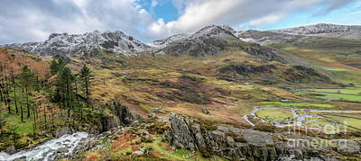 Photograph - Snowcapped Snowdonia by Adrian Evans