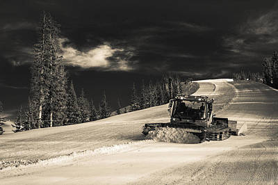 Photograph - Snowcat by Stephen Holst