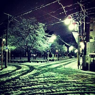 Photograph - Snowday by Yukihiro Arai
