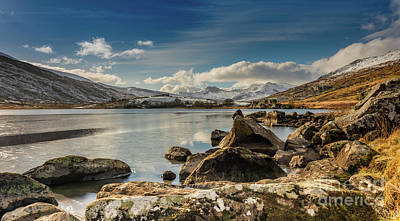 Photograph - Snowdon From Llynnau Mymbyr by Adrian Evans
