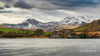 Photograph - Snowdon Horseshoe Winter by Adrian Evans