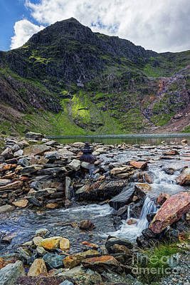 Photograph - Snowdon by Ian Mitchell