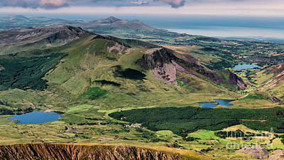 Photograph - Snowdon Moutain View by Adrian Evans