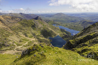 Photograph - Snowdon Summit by Ian Mitchell