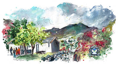 Painting - Snowdonia 02 by Miki De Goodaboom