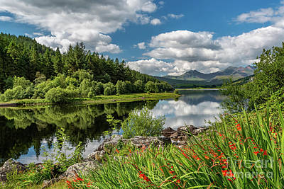 Photograph - Snowdonia Lake Wales by Adrian Evans