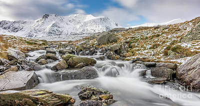 Photograph - Snowdonia Mountain River by Adrian Evans