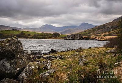 Llynnau Mymbyr Photograph - Snowdonia National Park by Amanda Elwell