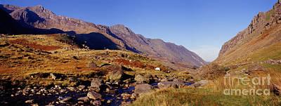 Photograph - Snowdonia Panoramic View by Warren Photographic