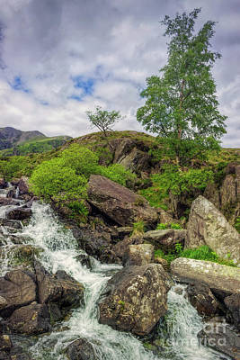 Photograph - Snowdonia Rapids by Ian Mitchell