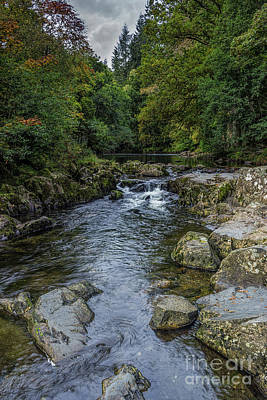 Photograph - Snowdonia River by Ian Mitchell