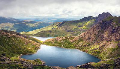 Photograph - Snowdonia by Svetlana Sewell