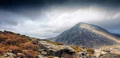 Photograph - Snowdonia Welsh Mountains by John Williams