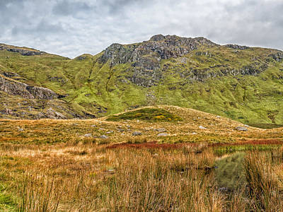 Photograph - Snowdonian Hills by Nick Bywater