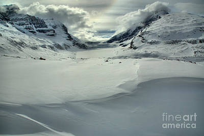 Photograph - Snowdrifts Fill The Foreground by Adam Jewell
