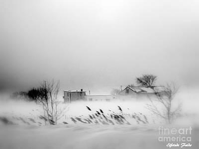 Photograph - Snowed - In by Elfriede Fulda