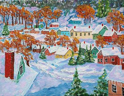 Painting - Snowed In by Mike Caitham