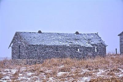 Photograph - Snowfall Abandon by Bonfire Photography
