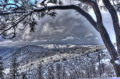 Prescott Photograph - Snowfall Covers Northern Arizona For Christmas by Thomas Todd
