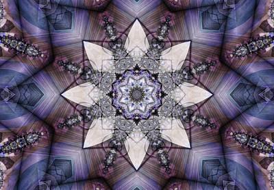 Digital Art - Snowfall by Ted Raynor