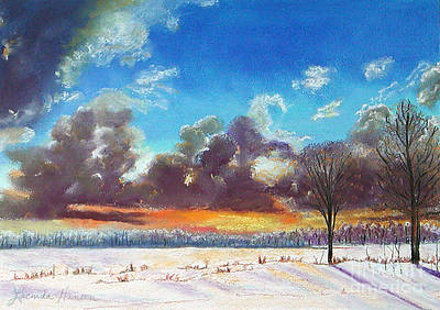 Painting - Snowfield IIi by Lucinda  Hansen