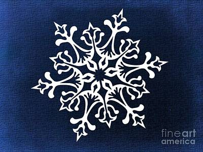 Digital Art - Snowflake  by Erika H