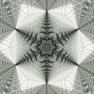 Snowflake Kaleidoscope IIi Art Print