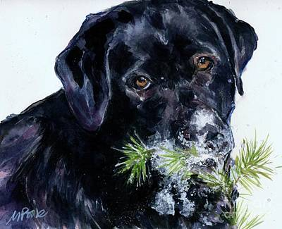 Painting - Snowflake by Molly Poole