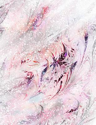 Snow Drifts Digital Art - Snowflake by Rachel Christine Nowicki