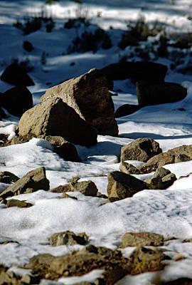 Photograph - Snowline by John Schneider