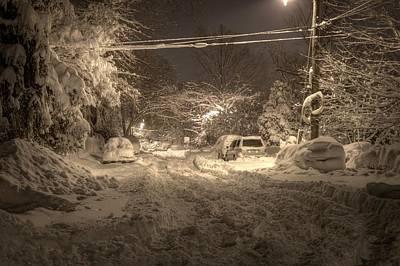 Snowmageddon Photograph - Snowmageddonhdr by Kevin Parsons