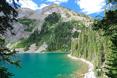 Photograph - Snowmass Lake Landscape by Cascade Colors