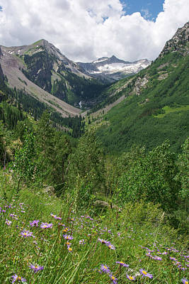 Photograph - Snowmass Valley  by Aaron Spong