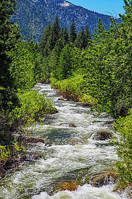 Photograph - Snowmelt On The Carson by Nancy Marie Ricketts
