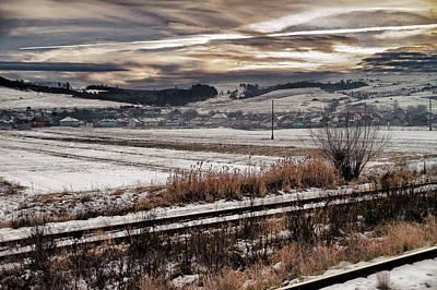 Photograph - Snowscape In Romania by Adam Rainoff