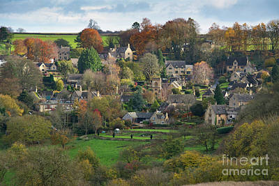 Photograph - Snowshill In Autumn by Tim Gainey
