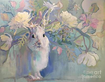 Spring Bloom Painting - Snowshoe by Kimberly Santini