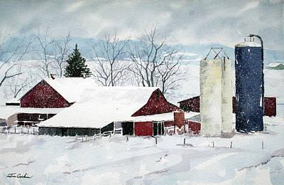 Snowstorm Original by Jim Gerkin