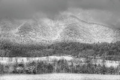 Photograph - Snowy Afternoon In The Smokies by Mike Eingle