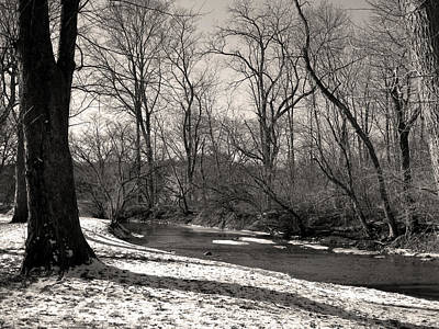 Andrew Wyeth Photograph - Snowy Banks by Gordon Beck