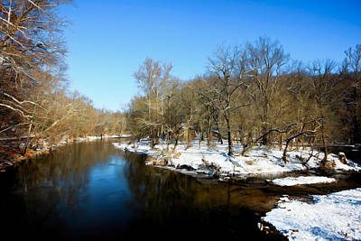 Photograph - Snowy Creek Morning by William Jobes