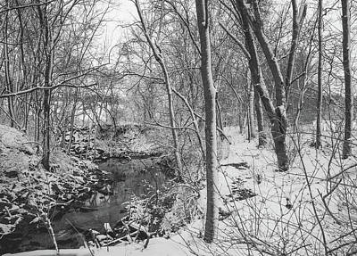 Photograph - Snowy Creek by Wendy Carrington